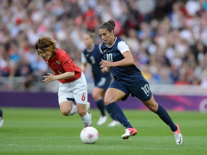 Brace From Lloyd Rescues USWNT in Algarve Cup Opener